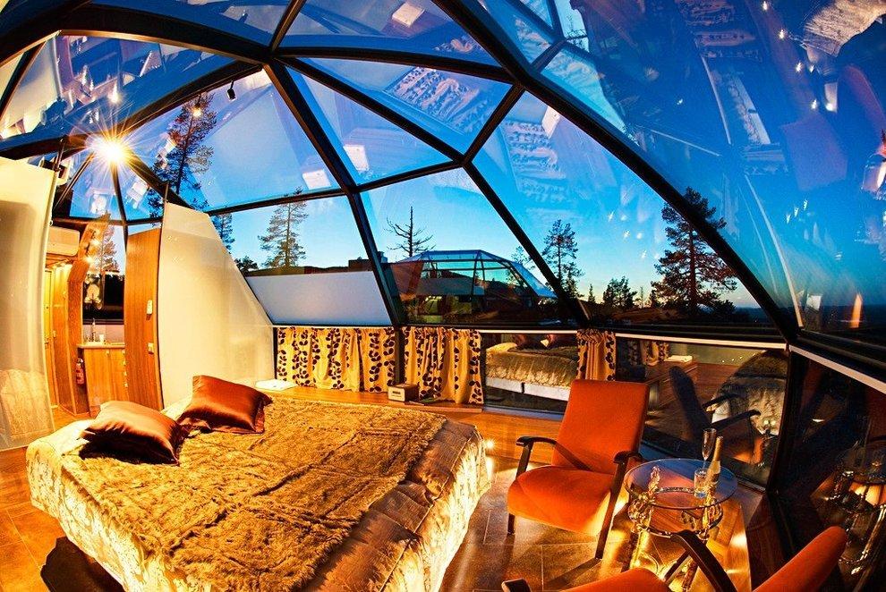 Hotel Kakslauttanen— Финляндия, Лапландия