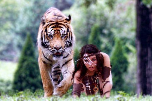 Женские тотем Тигрицы